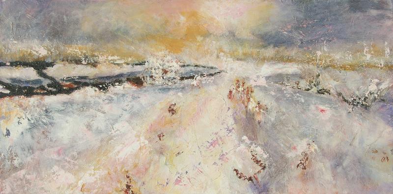 Winter Field, unframed
