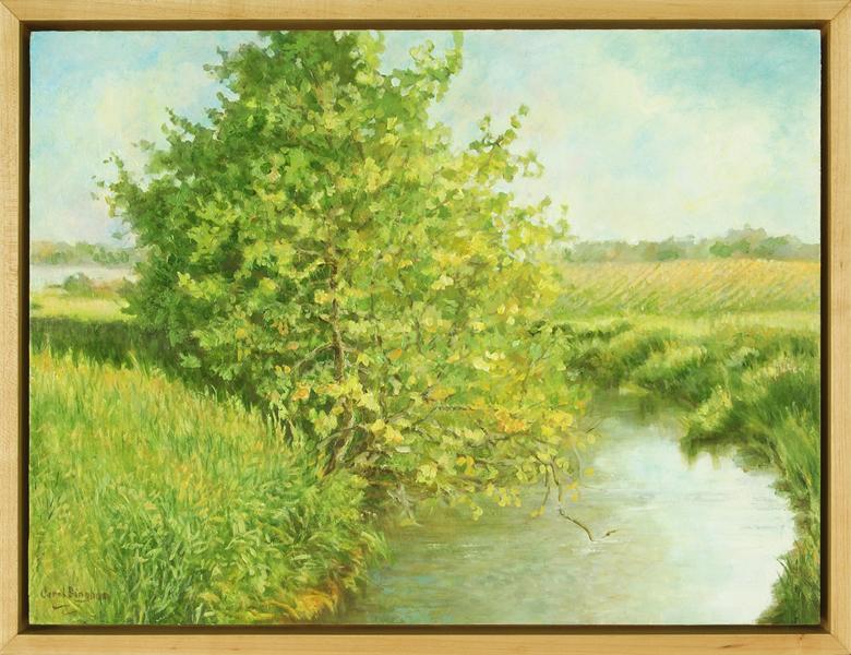 August Light, framed