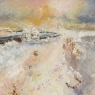 Winter Field, unframed