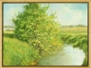 August Light, framed