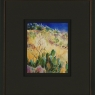 Desert Landscape, New Mexico (A), framed