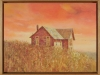 Prairie House, framed