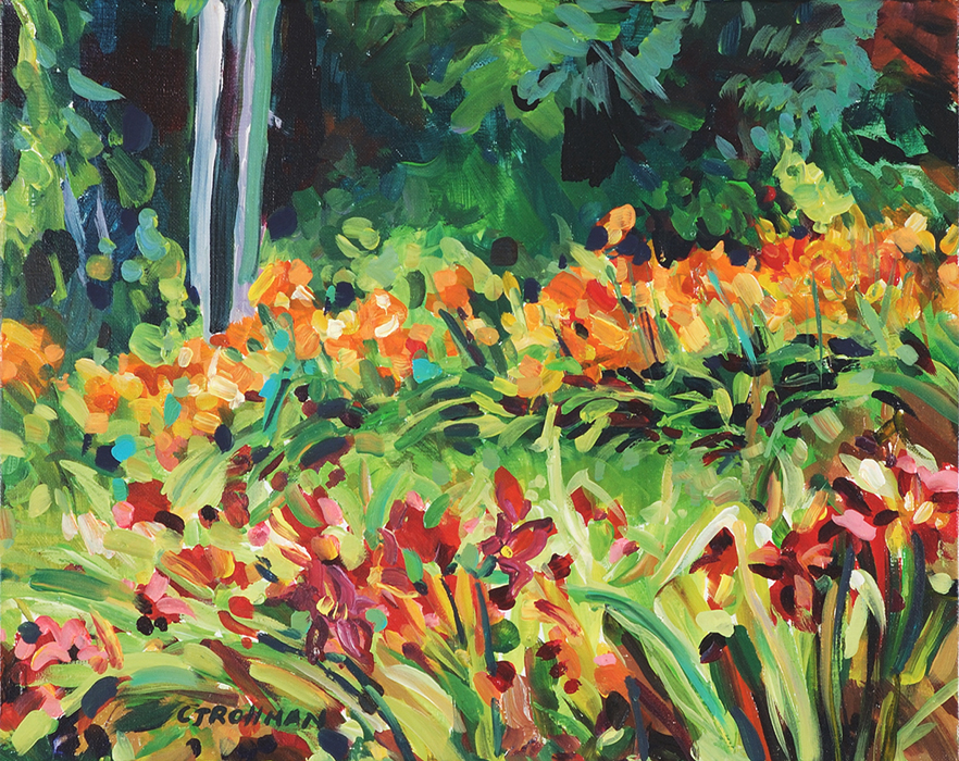 Hot Day at the Lily Farm, unframed