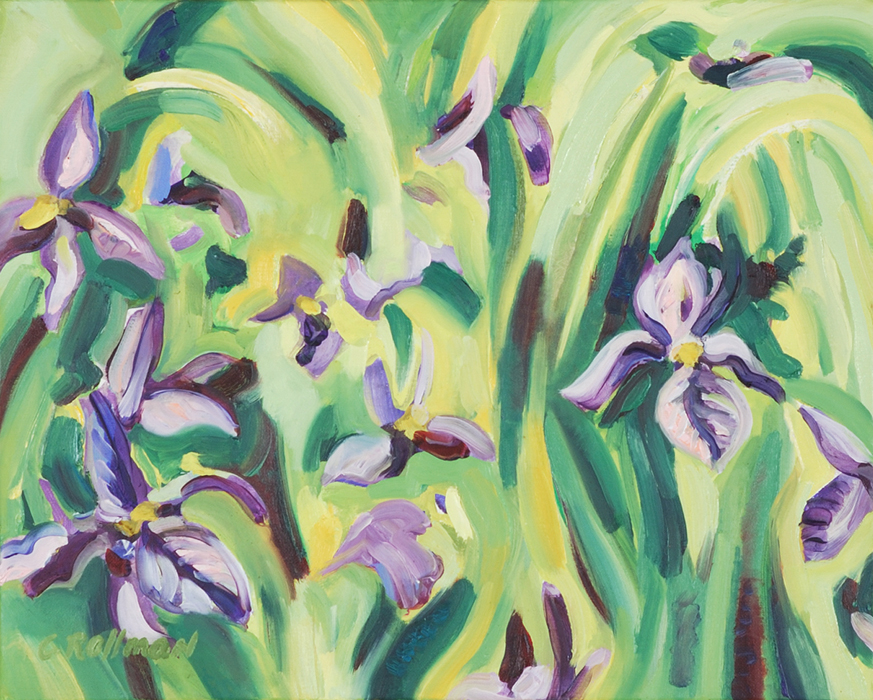 Iris,unframed