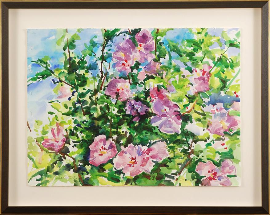 rose-of-sharon_framed