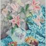 """Star Gazer Lilies and Bird Boxes"""