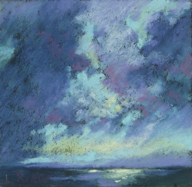 1511 Storm at Sea Bay of Naples, unframed