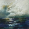 1513 Storm at Sea Bay of Naples, unframed