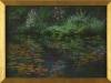 Garden Silence, framed