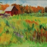 """Two Red Barns"""""""