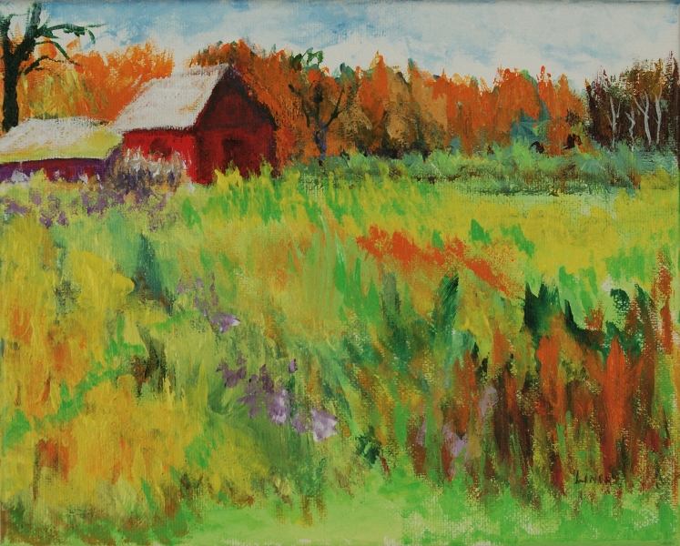 two-red-barns
