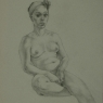"""Female Figure Drawing #0006-2012"""