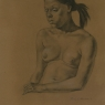 """Female Figure Drawing #0199-2011"""