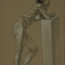 """Female Figure Drawing #0201-2012"""