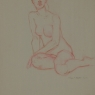 """Female Figure Drawing #0203-2013"""