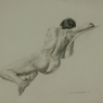 """Female Figure Drawing No. 0205-2013"""