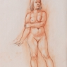 """Female Figure Drawing 11-51"""