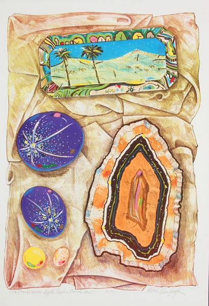 """Ita (Stone) Series: Agate Sapphire Emerald Land"""