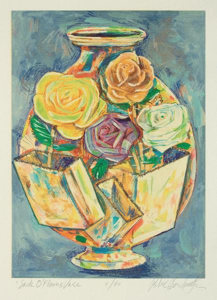 Sack O Flowers Vase