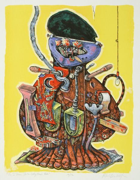 The J. Beam Porta-Potty Flush Vase