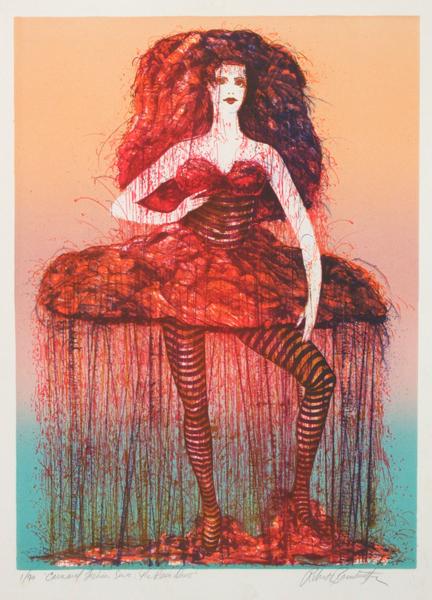 """""""Carnaval Fashion Series:  The Rain Dress"""""""