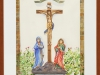 Shrine of Christ at St. Severus Church, Boppard, Germany-framed