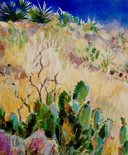 Desert Landscape, New Mexico (A), unframed