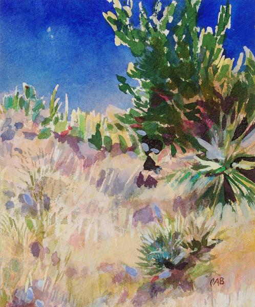 Desert Landscape, New Mexico (C), unframed