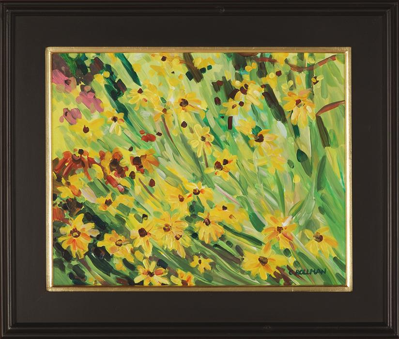 Daisy Time, framed