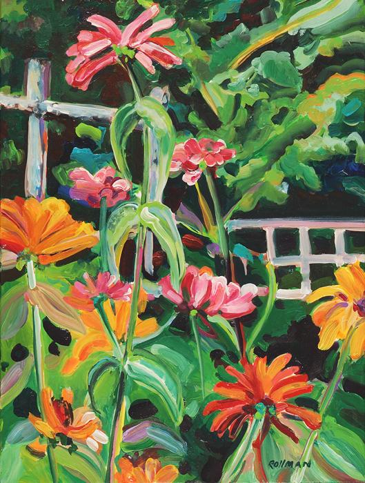 In the Garden, unframed