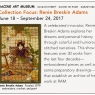 Racine Exhibition Announcement