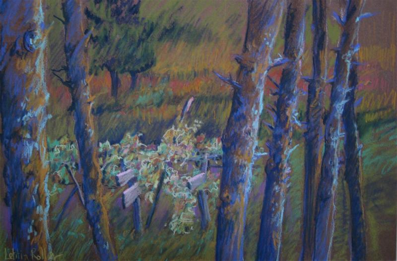 """""""Autumn Grape Arbor"""""""
