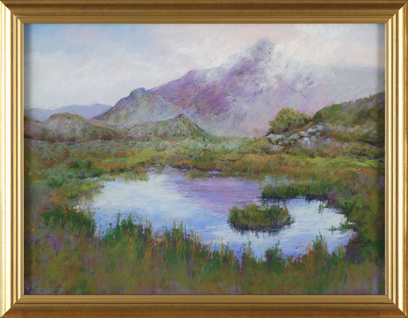 Scottish Mist, framed