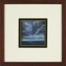 0041 Storm at Sea Bay of Naples, framed