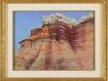 Sedimentary Layers, framed