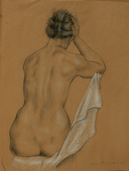"""""""Female Figure with White Cloth"""""""