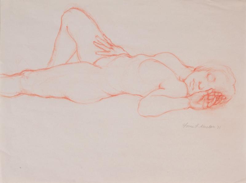 """Female Figure Drawing 11-40"""