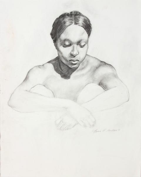 """Female Figure Drawing 11-47"""