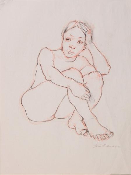 """Female Figure Drawing 11-50"""