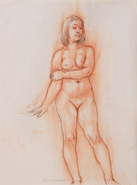 """Female Figure Drawing 11-51"""