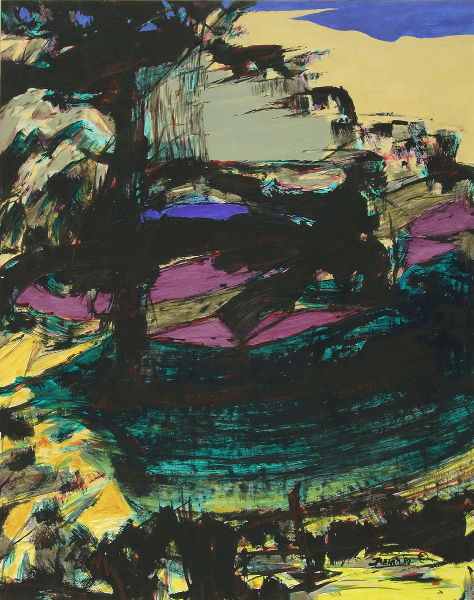"""Olympic American Landscape III, No.3"""