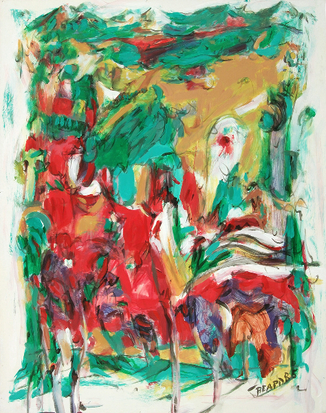 """White Edged Series:  Generalized Landscape No. 20"""
