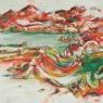 """White Edged Series:  Generalized Landscape No. 12"""
