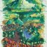 """White Edged Series:  Generalized Landscape No. 29"""