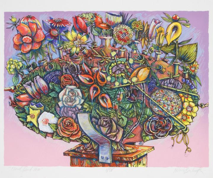 """""""Floral Bowl Vase"""""""
