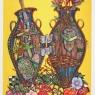 """Antique Split-Vase Valentine"""