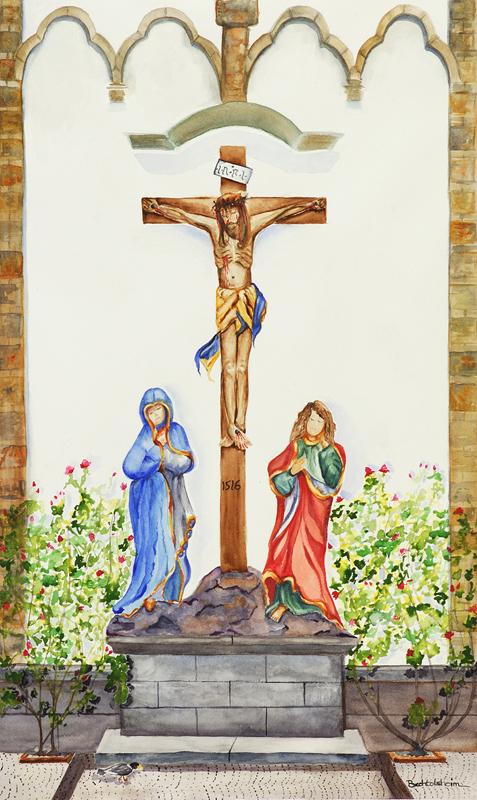 Shrine of Christ at St. Severus Church, Boppard, Germany