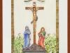 Shrine of Christ at St. Severus Church, Boppard, Germany-framed