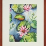 water-lily-splendor-framed